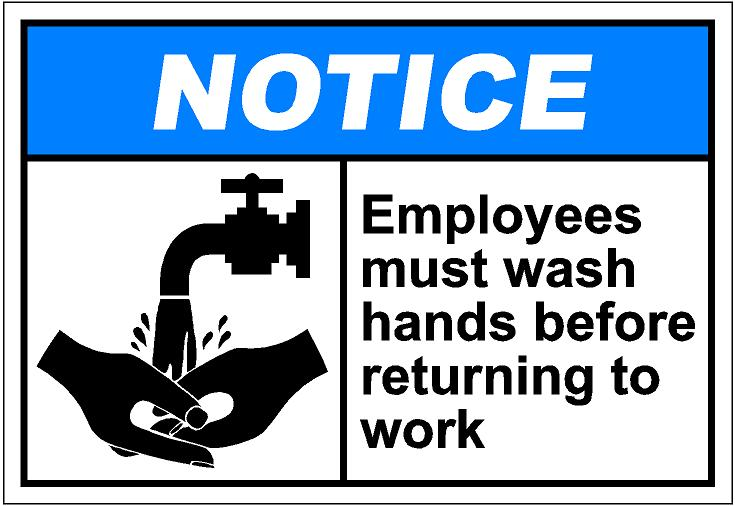 Notih056   Employees Must Wash Hands Eps