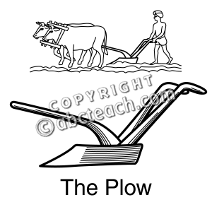 Of 1 Clip Art Plow Coloring Page Coloring Page Black And White Clip