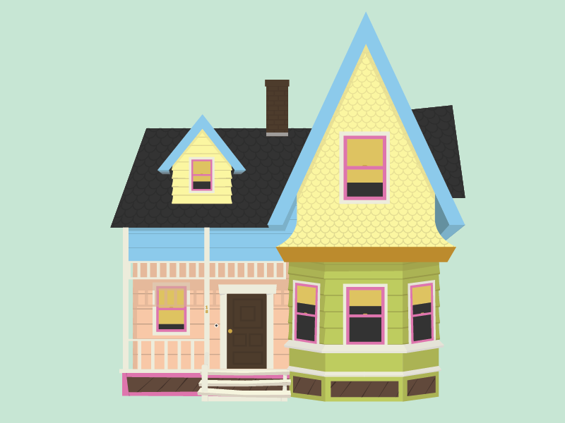 Up Movie House Clipart Clipart Suggest