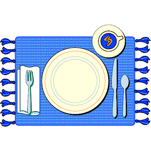 Place Setting Clipart Cliparts Of Place Setting Free Download  Wmf