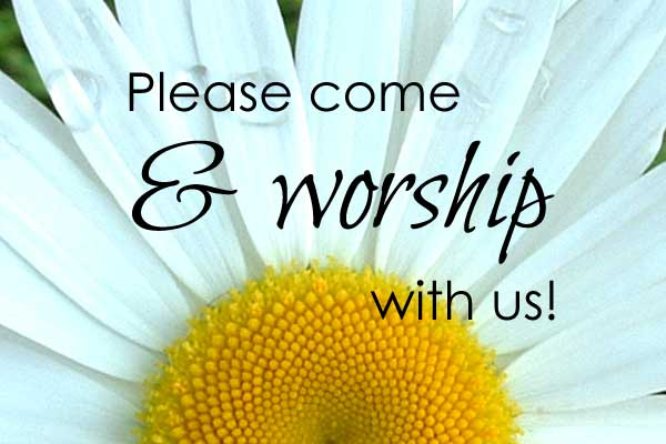 Pleasee And Worship With Us