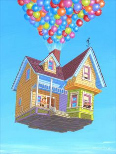 Up Movie House Clipart