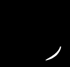 Apple Outline Clip Art At Clker Com   Vector Clip Art Online Royalty