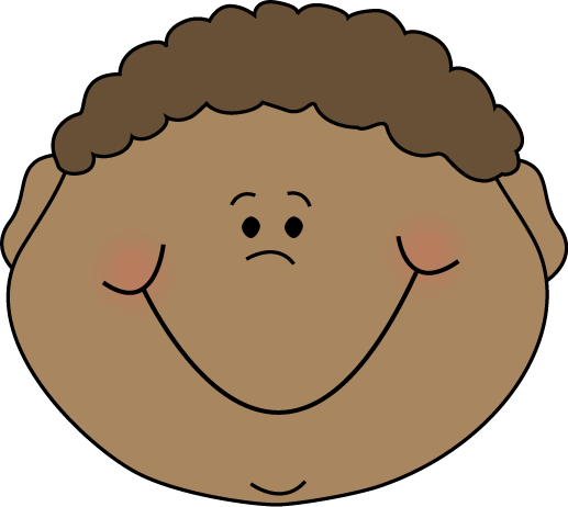 Boy Happy Cartoon Face Clip Art   Little Boy Happy Cartoon Face Image