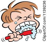 Brush Teeth Clip Art - Synkee
