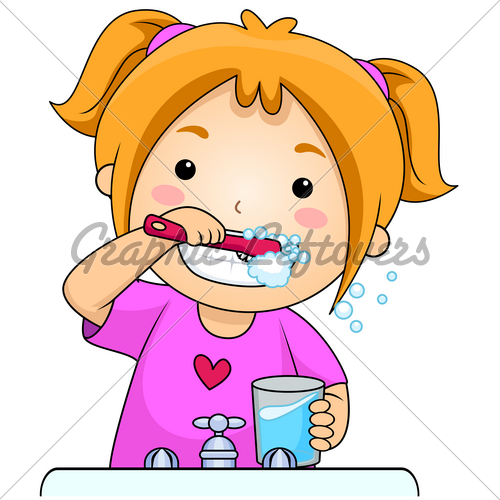 Brushing Teeth Clipart   Clipart Panda   Free Clipart Images
