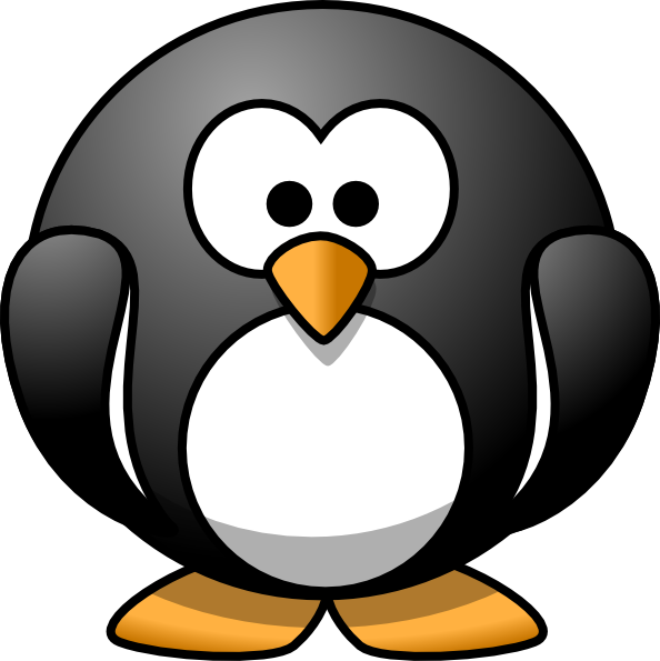 Penguin Cartoon Clipart - Clipart Kid