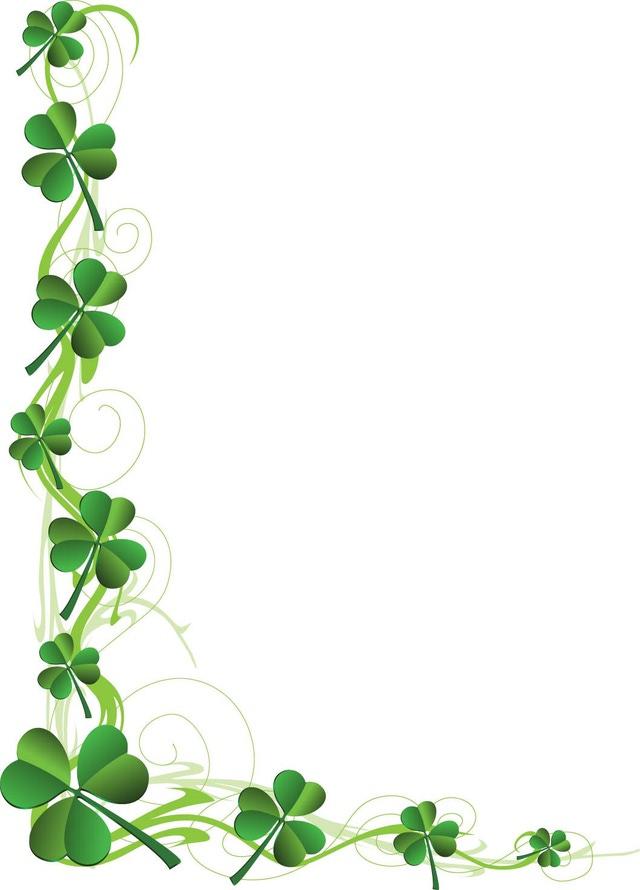free shamrock clipart. shamrock images clip art. celtic shamrock ...