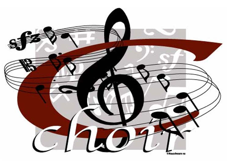Church Choir Singing Clipart - Clipart Suggest