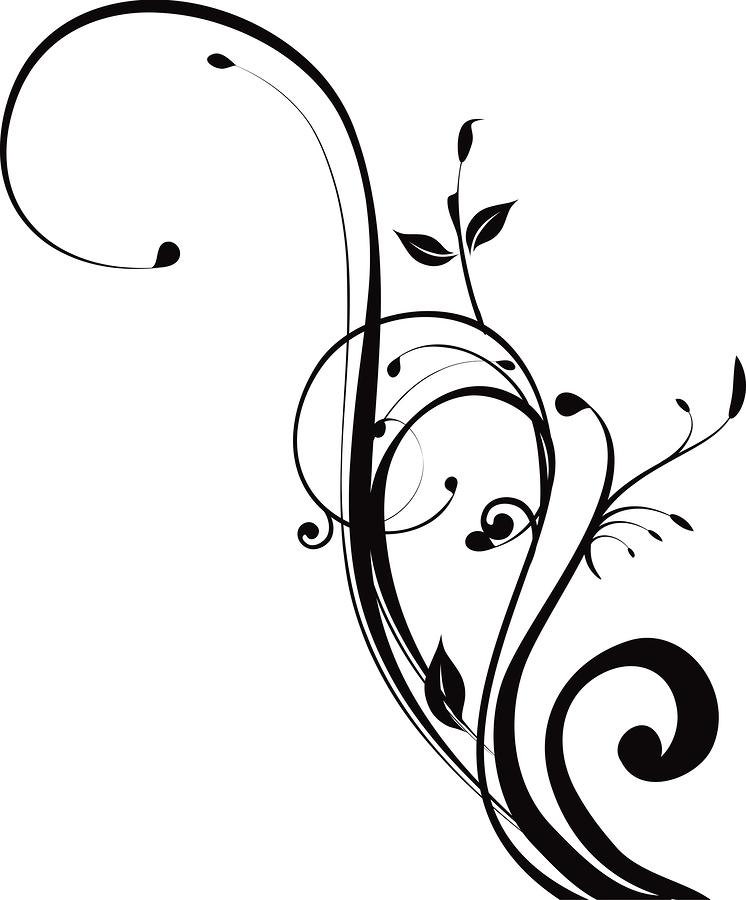 Corner Swirls Clipart - Clipart Kid