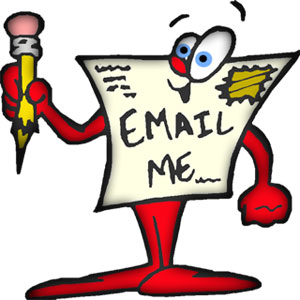 Email Me Clipart - Clipart Kid