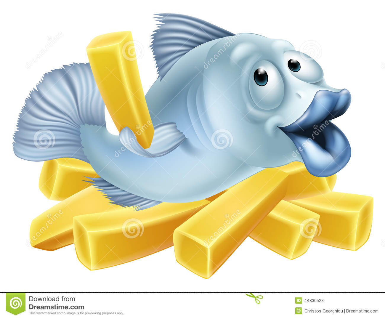 fish and chips clipart - photo #13