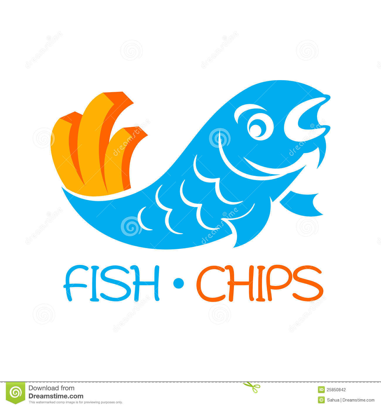 fish and chips clipart - photo #19