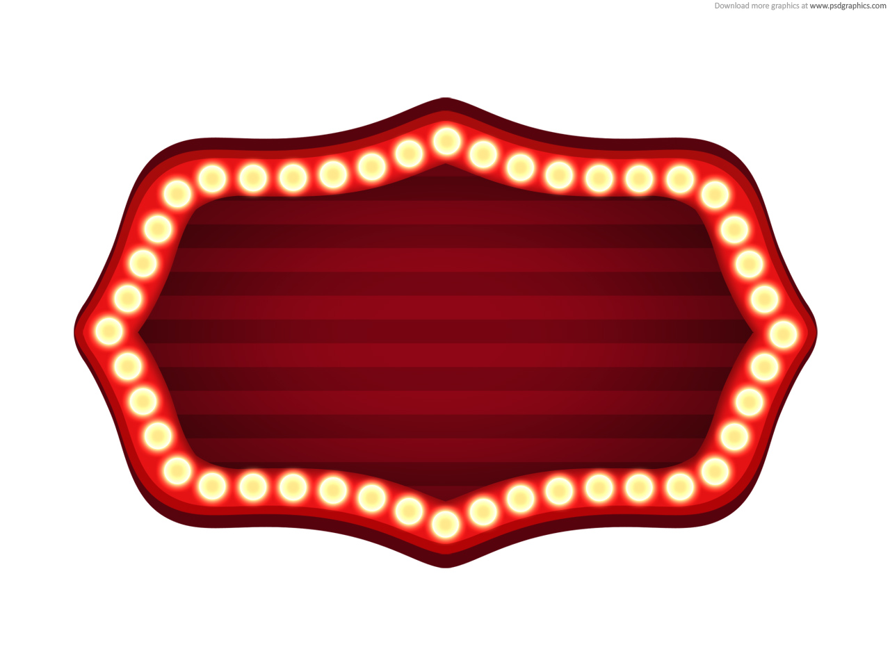 Broadway Marquee Lights Clipart - Clipart Kid