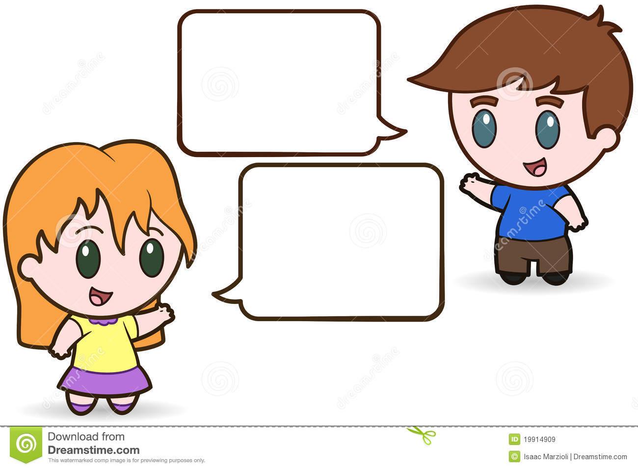 Talking Cartoon Clipart - Clipart Kid
