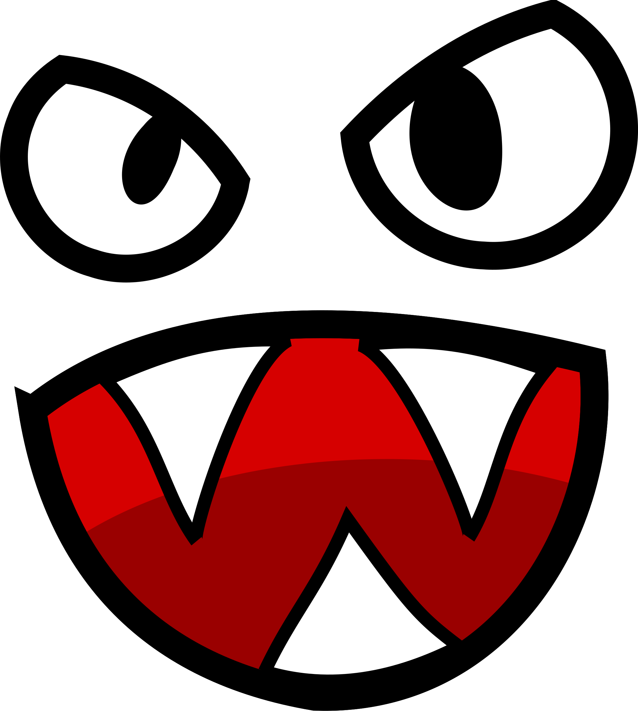 Monster Mouth Clipart - Clipart Kid