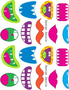 Monster Mouth Clip Art