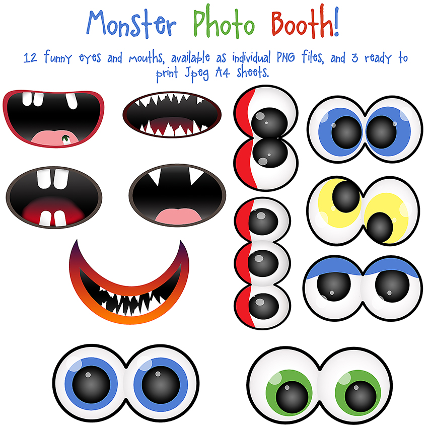 Monster Photo Booth Clip Art By Allthingsprecious On Deviantart