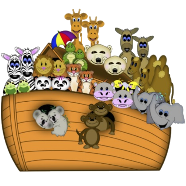 Noah S Ark   Cartoon Animals Homepage