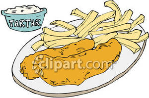 fish and chips clipart - photo #22