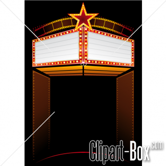 Related Theater Marquee Cliparts