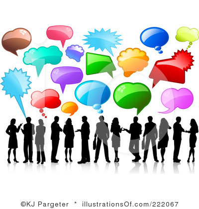 Talk Clipart Royalty Free Talking Clipart Illustration 222067 Jpg