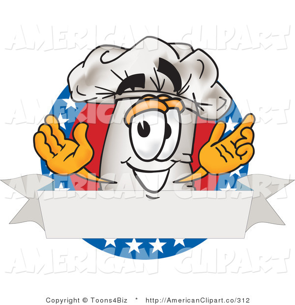 Vector Cartoon Illustration Of A Cook Hat Mascot Cartoon Character