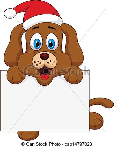 Christmas Dog Clipart - Clipart Kid