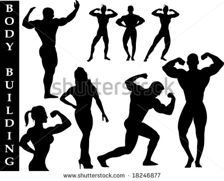 Collection Of Fitness Silhouettes   Check Out My Portfolio For Other