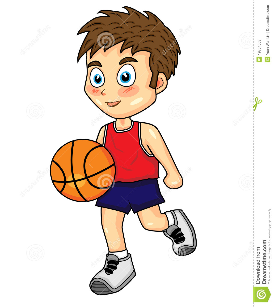 Boy Playing Basketball Clipart - Clipart Suggest