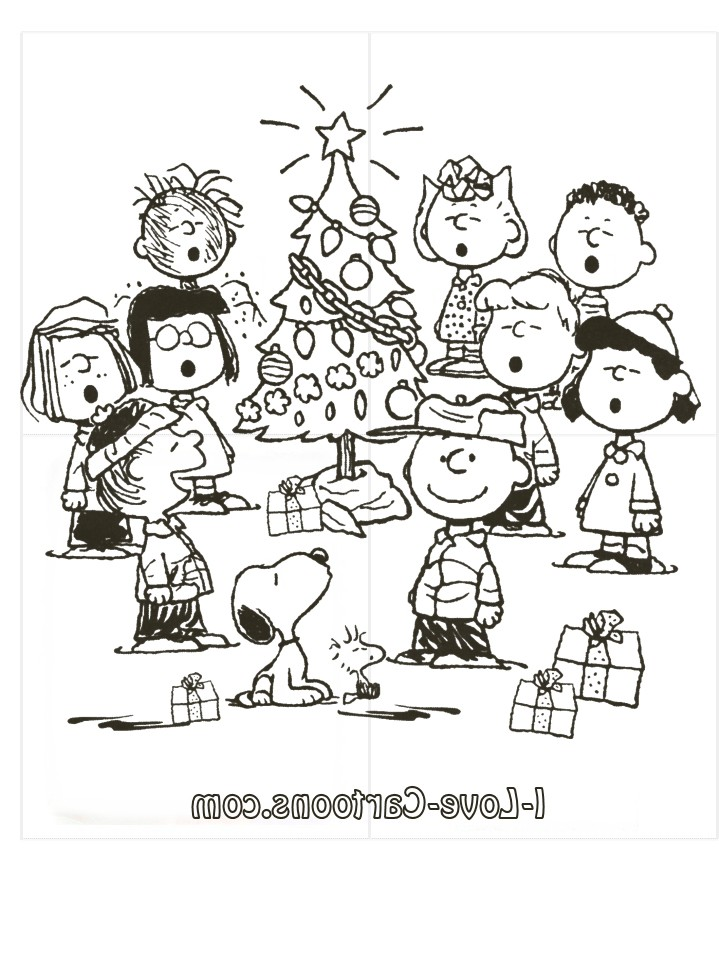 Free Charlie Brown Christmas Coloring Pages Car Tuning