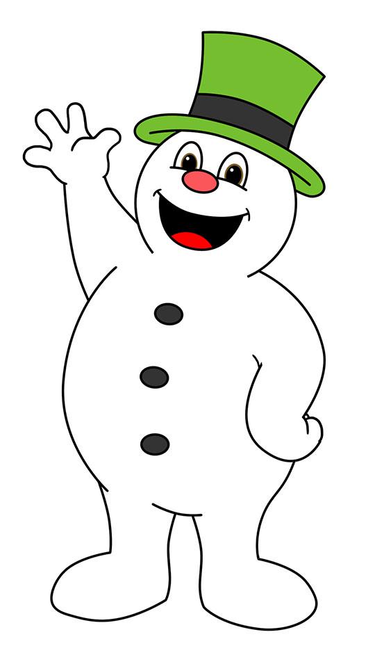 Olaf Snowman Clipart - Clipart Kid