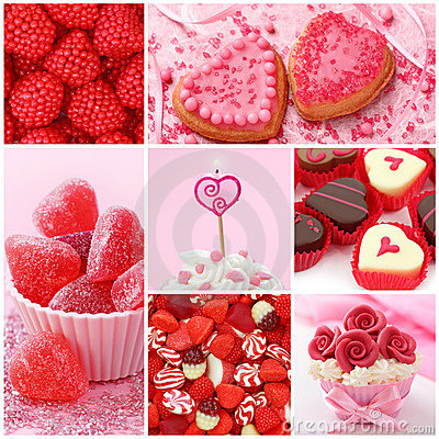 Royalty Free Stock Photo  Sweets For Valentine S Day