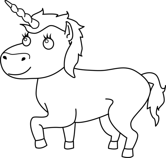 Unicorn Clip Art Black And White   Clipart Panda   Free Clipart Images