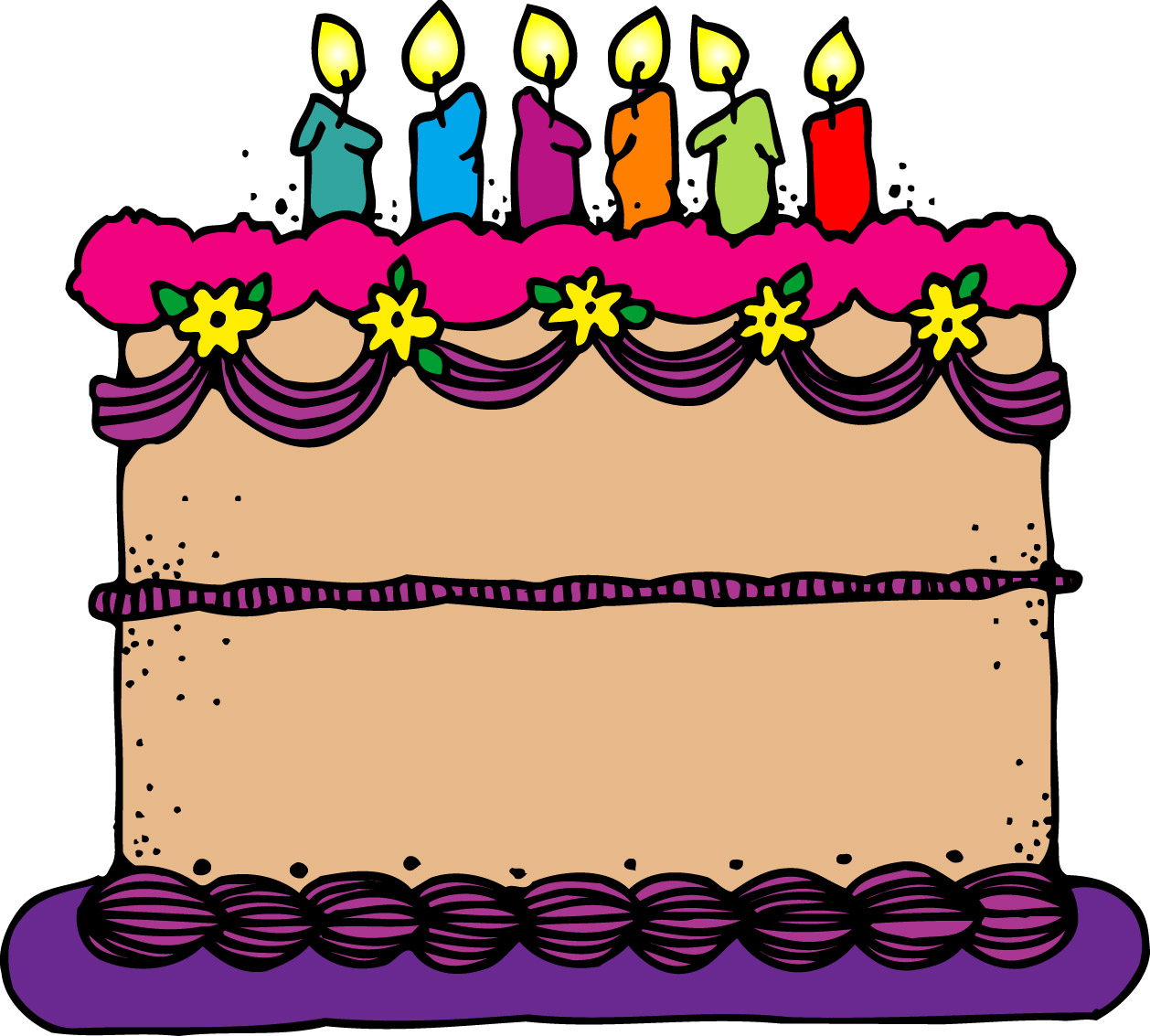 Animated Birthday Cake Clipart Cake Clip Art