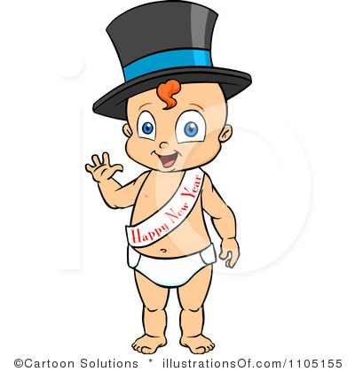 Baby New Year Clip Art Please Enjoy Your New Year