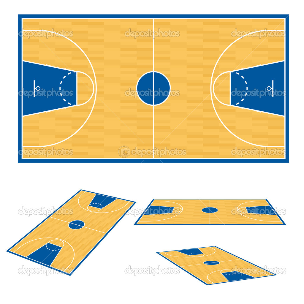 Arena basketball court clipart clipart suggest for Basketball court plan