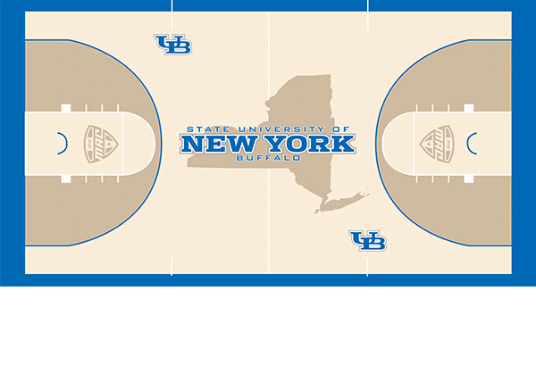 Buffalo Athletics Reveals New Floor Design For Alumni Arena   Buffalo
