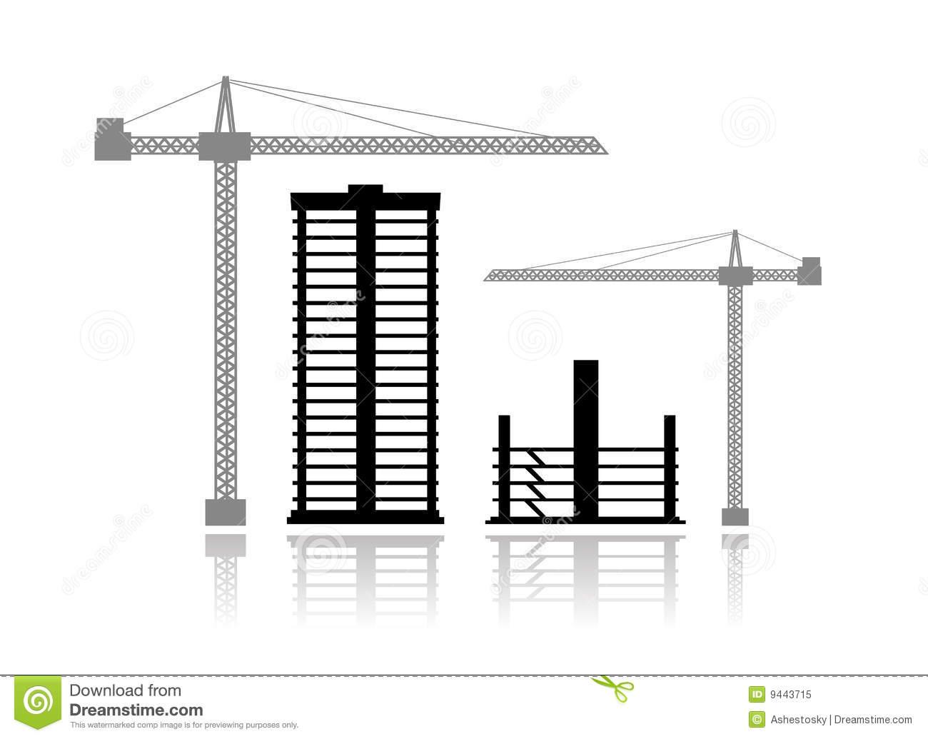 Building Construction Clip Art : Building towers clipart suggest