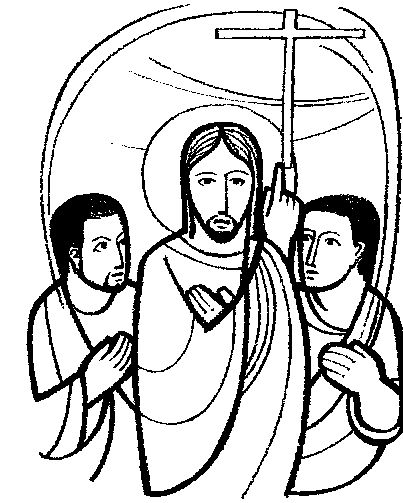 Coloring Pages  James And John With Jesus