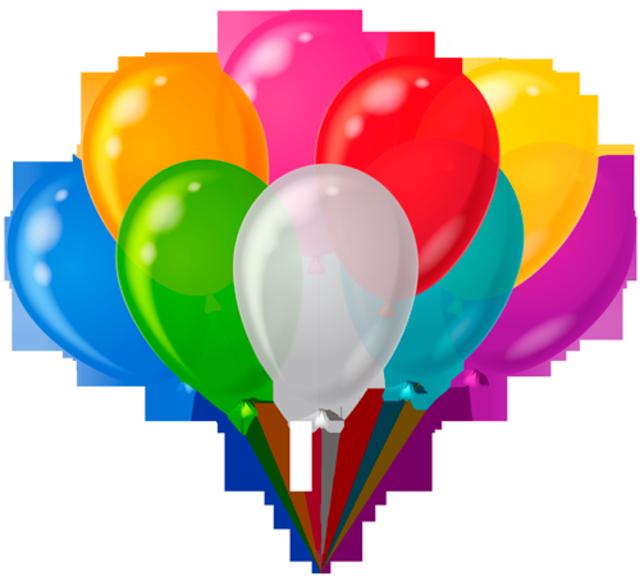 Globos de diferente colores fiestas infantiles ideas - Globos aerostaticos infantiles ...