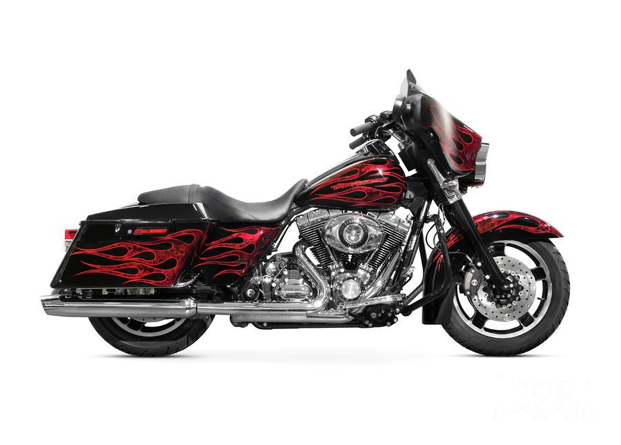 Harley Davidson Clip Art: Harley-davidson Motorcycle Clipart