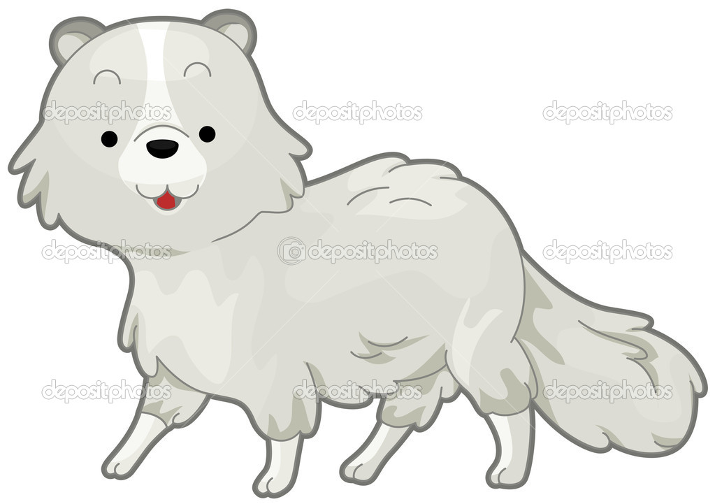 Arctic Fox   Stock Vector   Lenmdp  3946473