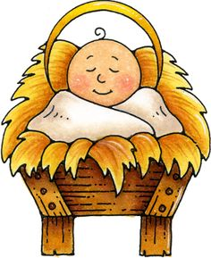 Astonishing Baby Jesus Clipart Clipart Kid Easy Diy Christmas Decorations Tissureus