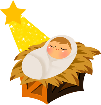 Baby Jesus Clipart - Clipart Kid