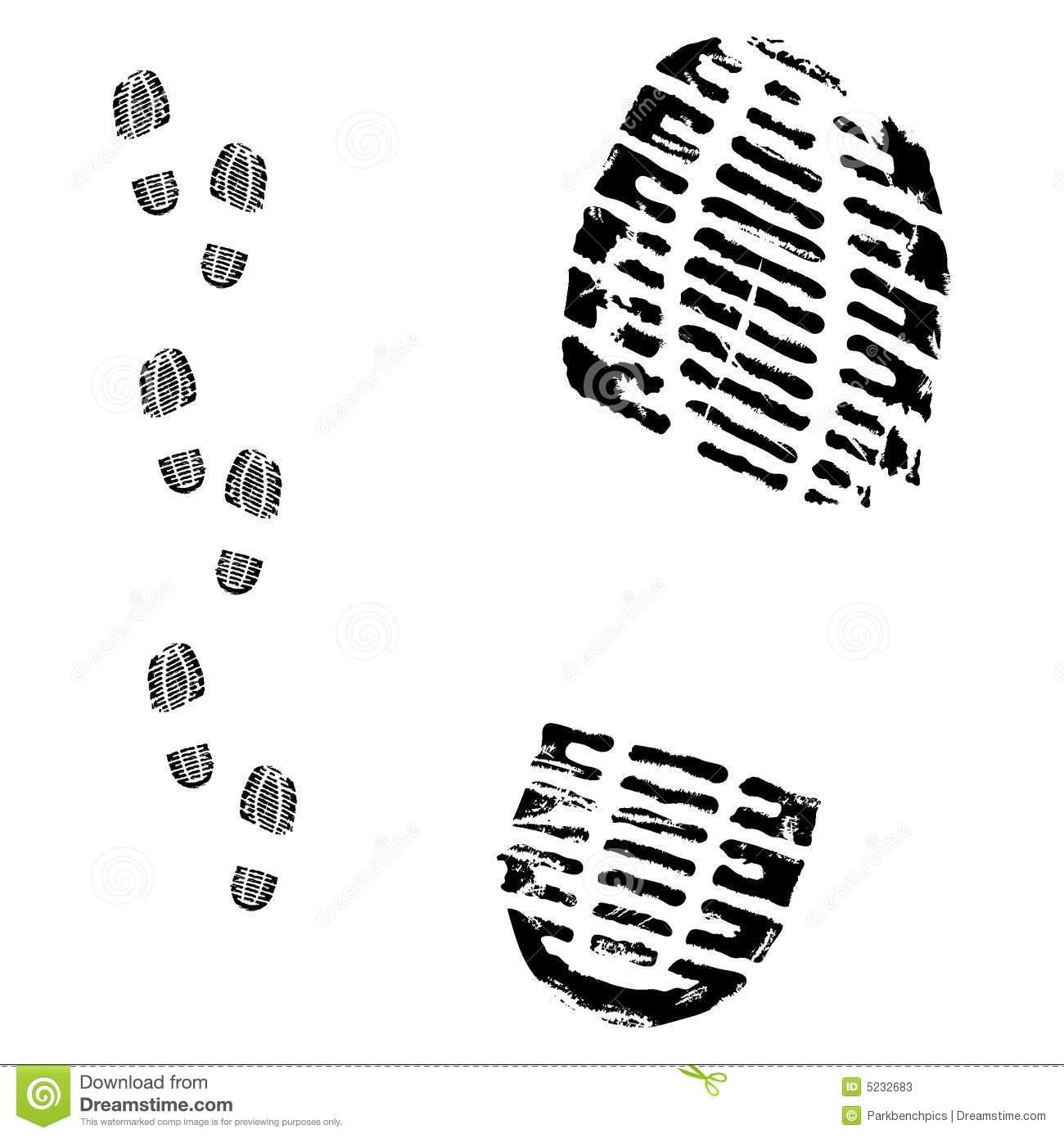 Boot Footprint Clipart - Clipart Suggest