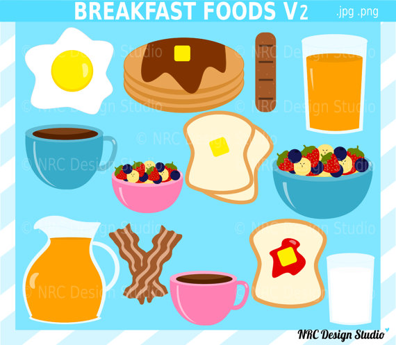Clip Art Breakfast Cute Clipart - Clipart Kid