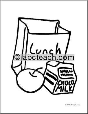 513644 Lunch Coloring