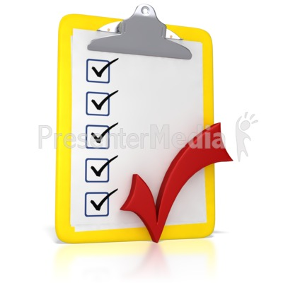 Clipboard With A Checkmark   Business And Finance   Great Clipart For