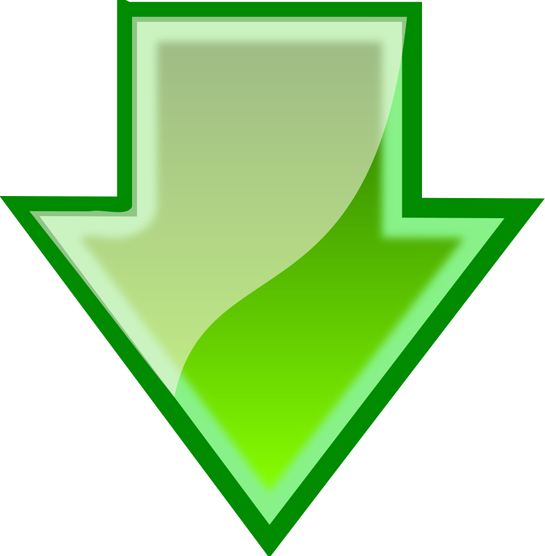 Download Arrow By Bugmenot   This Is A Green Download Arrow I Made